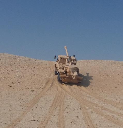 4x4 desert